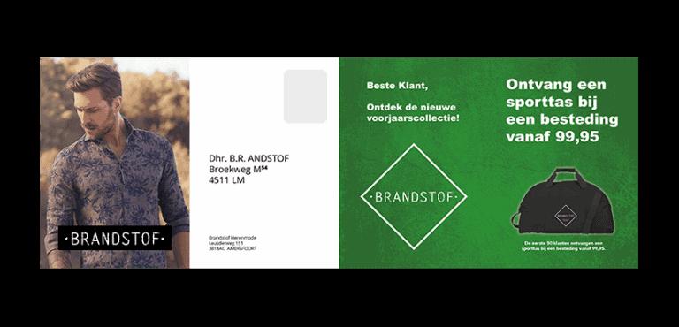 Brandstof Herenmode Sales folder