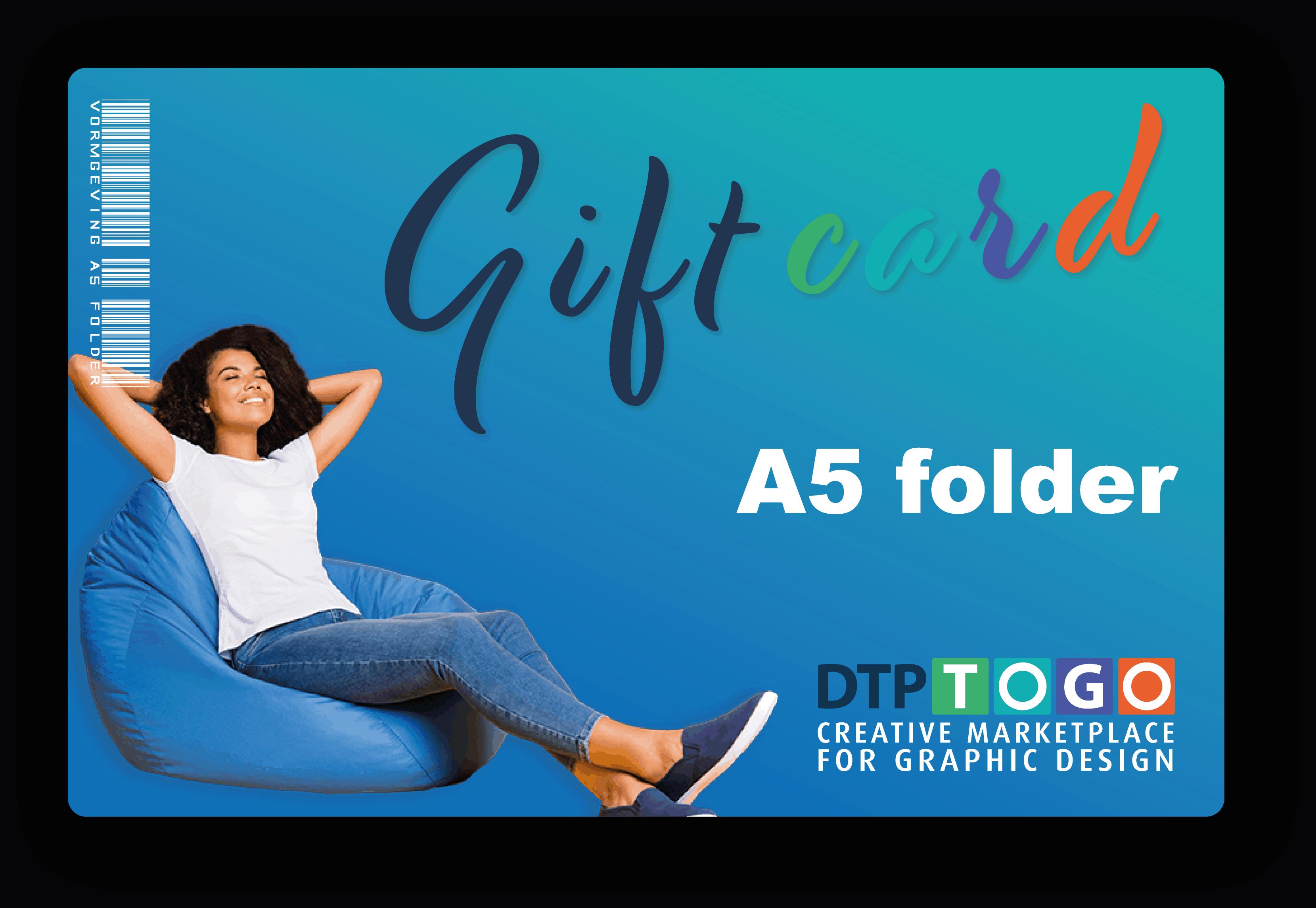 A5 folder -  2-zijdig ontwerp